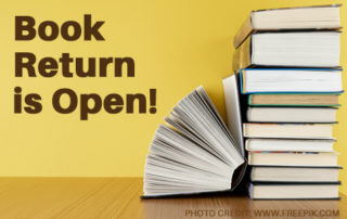 LCL Book Return is Open