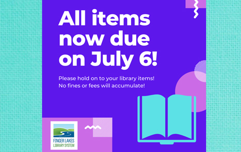 Items now due July 6