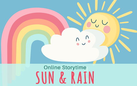 Sun and Rain Storytime at the Lansing Community Library