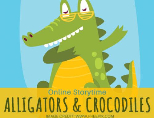 Online Storytime: Alligators and Crocodiles