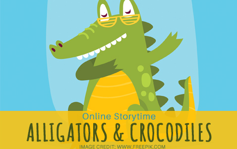 Online Storytime: Alligators and Crocodiles