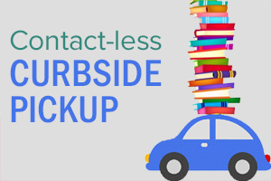 Library reopens for contact-less curbside pickup