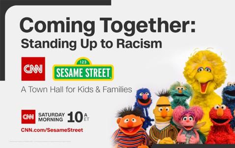 CNN Sesame Street Town Hall Racism