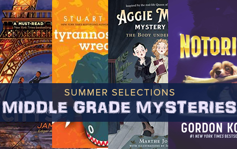 Summer Selections: Middle Grade Mysteries