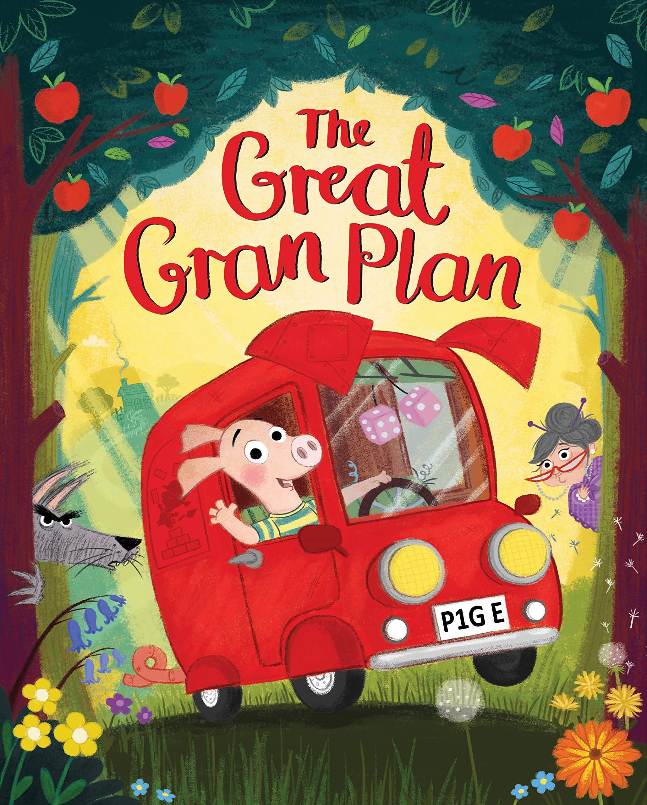 Great Gran Plan By Elli Woollard, Steven Lenton