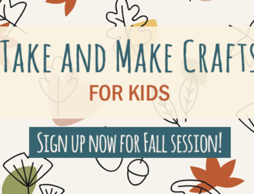 Fall 2020 Take and Make Crafts