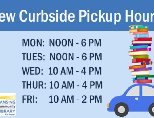 New Curbside Pickup Hours