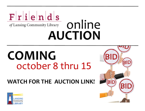 Friends' of the Library Online Auction