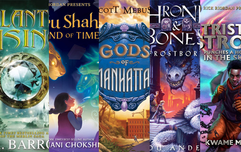 What to read if you like percy jackson