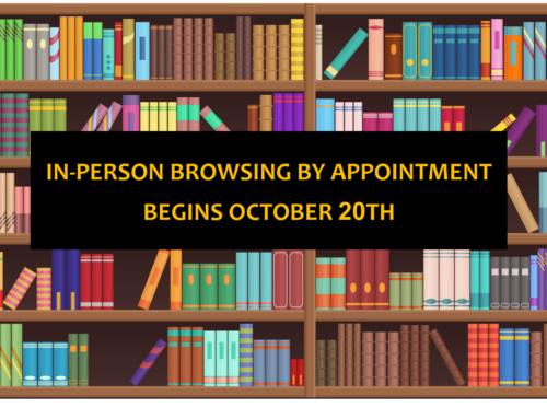 In-Person Browsing By Appointment