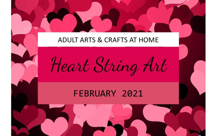 Adult Craft - Heart String Art