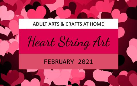 Heart String Art - Adult Craft