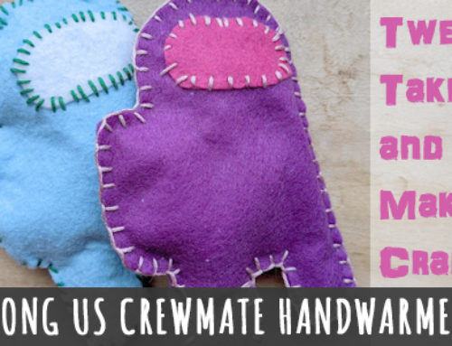 Tween Take and Make: Among Us Crewmate Handwarmers