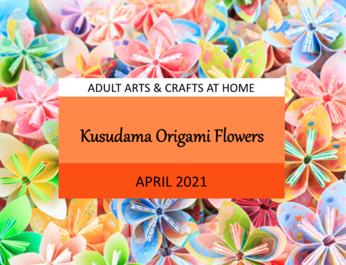 April – Kusudama Origami Flowers