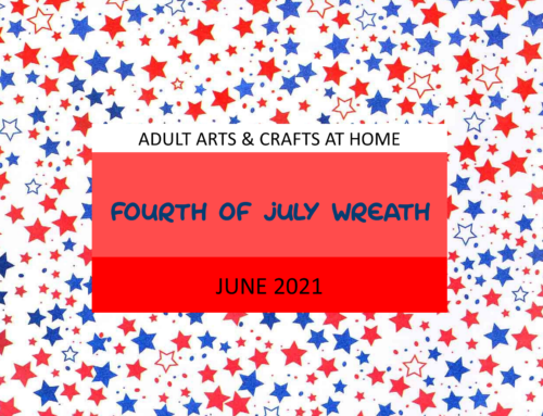 Fourth of July Cupcake Liner Wreath