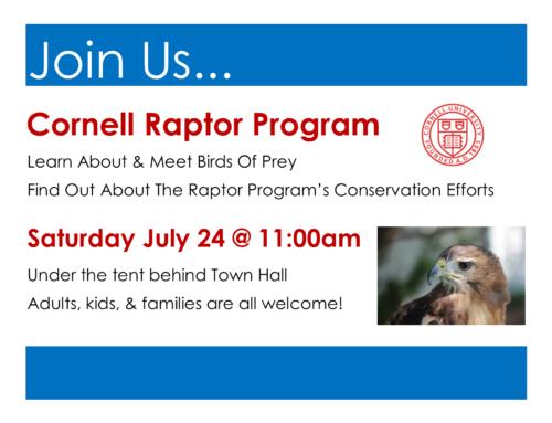 Cornell Raptor Program