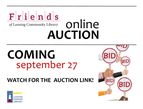 Friends of the Library Online Auction